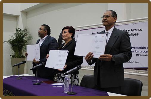 Firma de convenio de Colaboración ITAIT-IETAM
