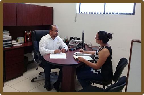 Reunión de trabajo con Unidad de Transparencia del H. Congreso del Estado de Tamaulipas