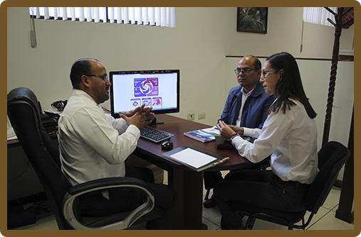 Reunión de trabajo con funcionarios del IPSSET
