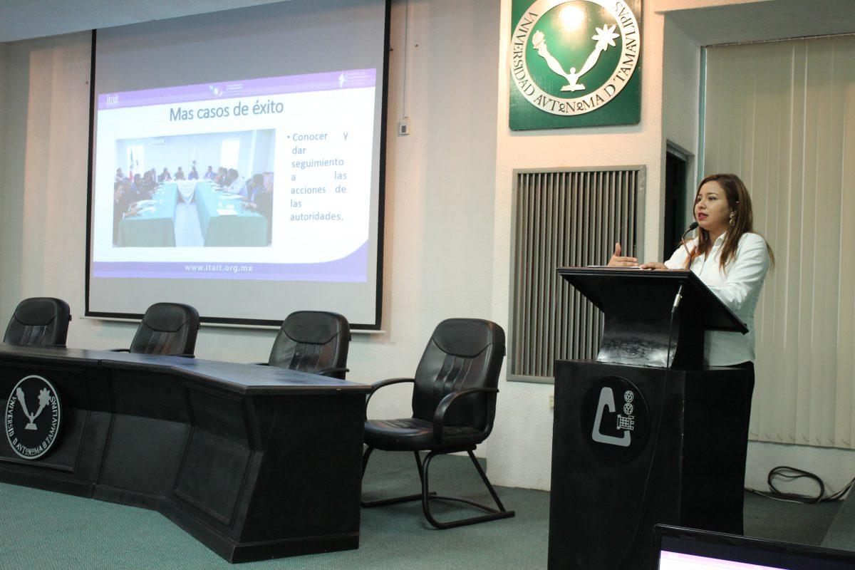 """ITAIT imparte conferencia: """"Transparencia y Acceso a la Información Pública"""""""