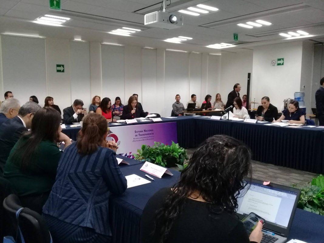 ITAIT asiste a reunión de trabajo de la Comisión de Capacitación, Educación y Cultura del Sistema Nacional de Transparencia.