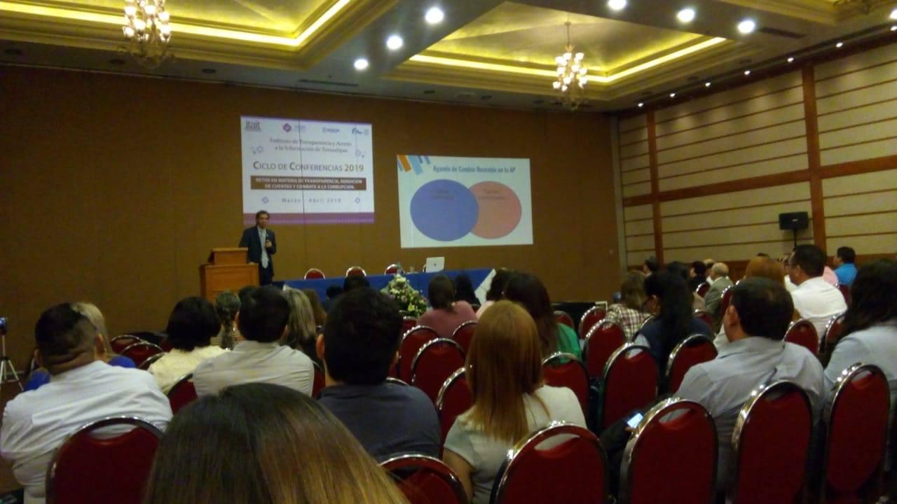 Conferencia: «Gobierno Abierto y combate a la corrupción»