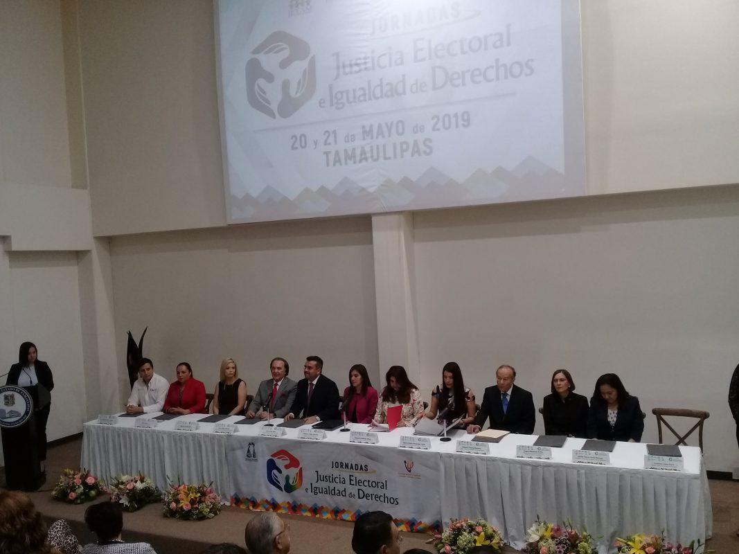 Asiste ITAIT a la inauguración de las Jornadas: «Justicia Electoral e Igualdad de Derechos».