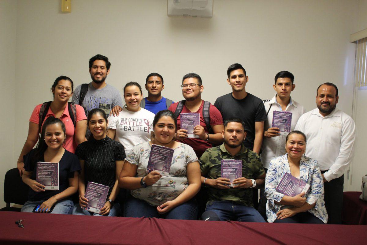 ITAIT promueve el DAI y PDP en estudiantes de la Universidad Autónoma de Tamaulipas.