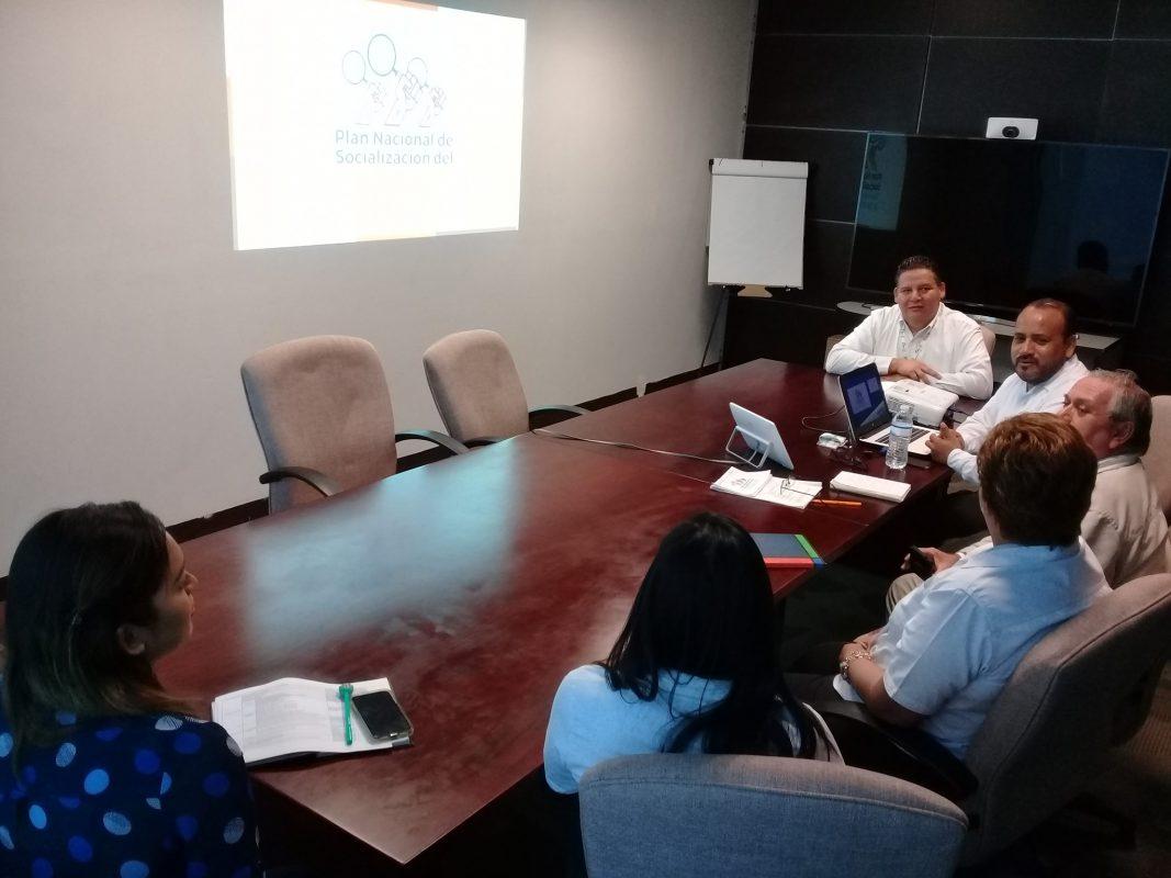 Reunión de trabajo del Plan DAI, con integrantes de la Coordinación de Unidades de Transparencia.
