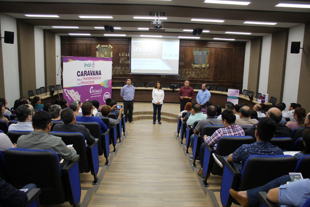 Segundo día de actividades de la Caravana por la Transparencia.