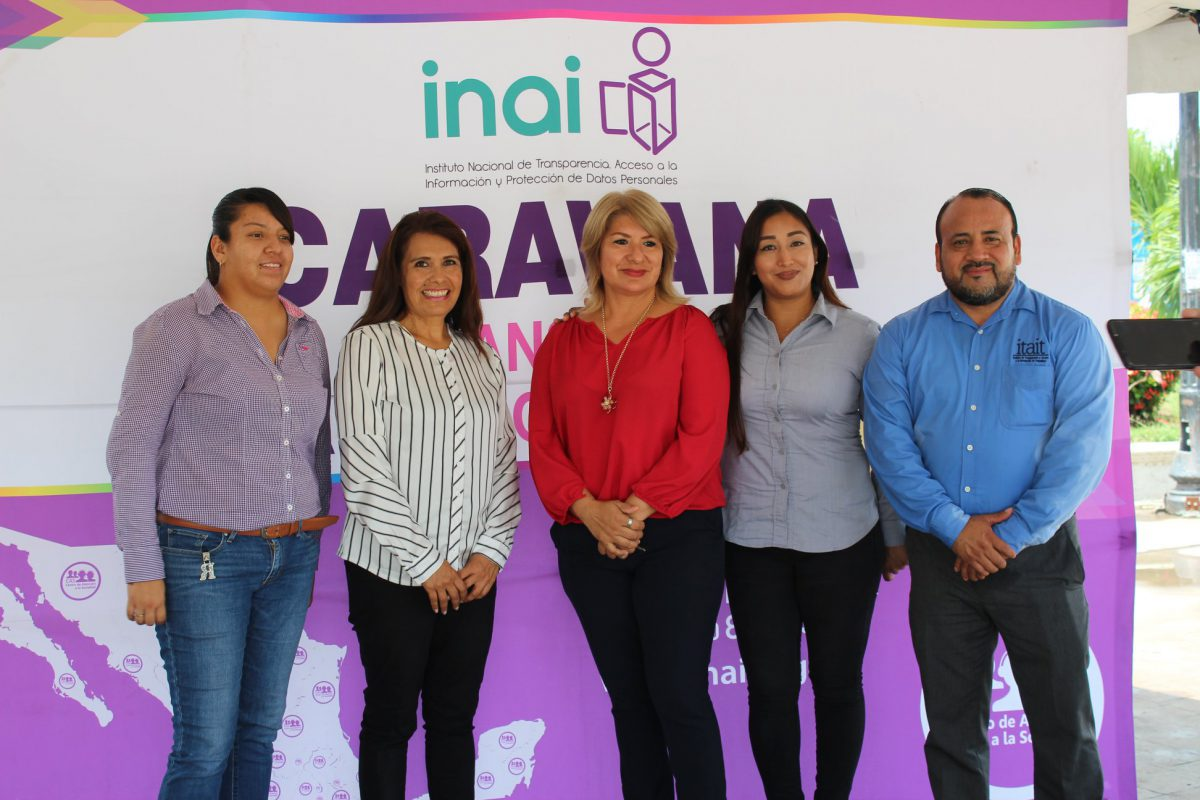 Cuarto día de actividades de la Caravana por la Transparencia.