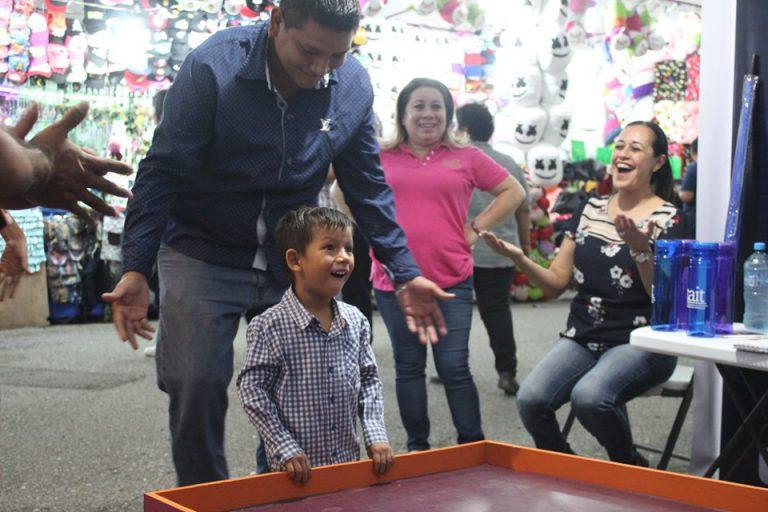 Se da Inicio a las actividades de difusión en el stand de la Feria Tamaulipas