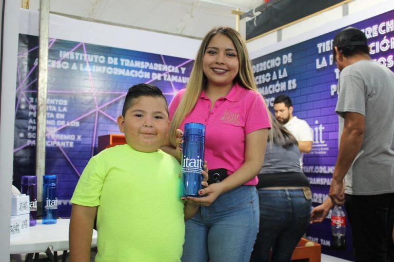 Tamaulipecos asisten, y participan en el stand del ITAIT ubicado en las instalaciones de la Feria Tamaulipas