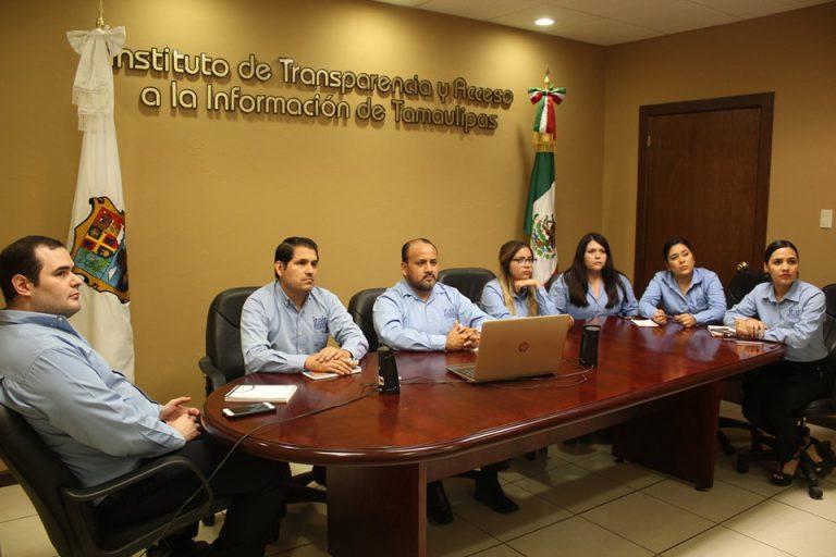 Personal del ITAIT asiste a reunión de trabajo virtual con Secretario de Ponencia del INAI.