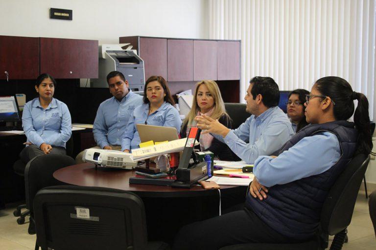 Taller de capacitación sobre SICOM y SISAI dirigido a personal de la Dirección Jurídica