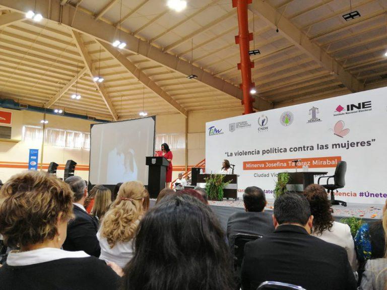 Asiste ITAIT a la Conferencia Magistral «La violencia política contra las Mujeres»