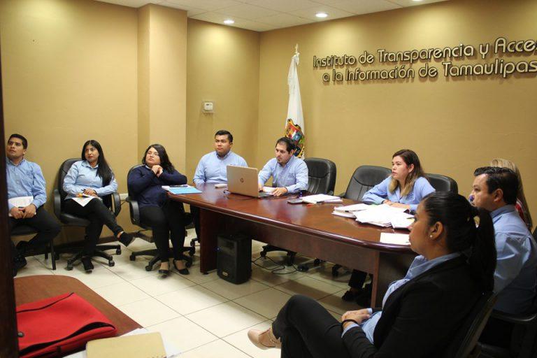 Personal del ITAIT asiste a reunión de trabajo virtual con el INAI