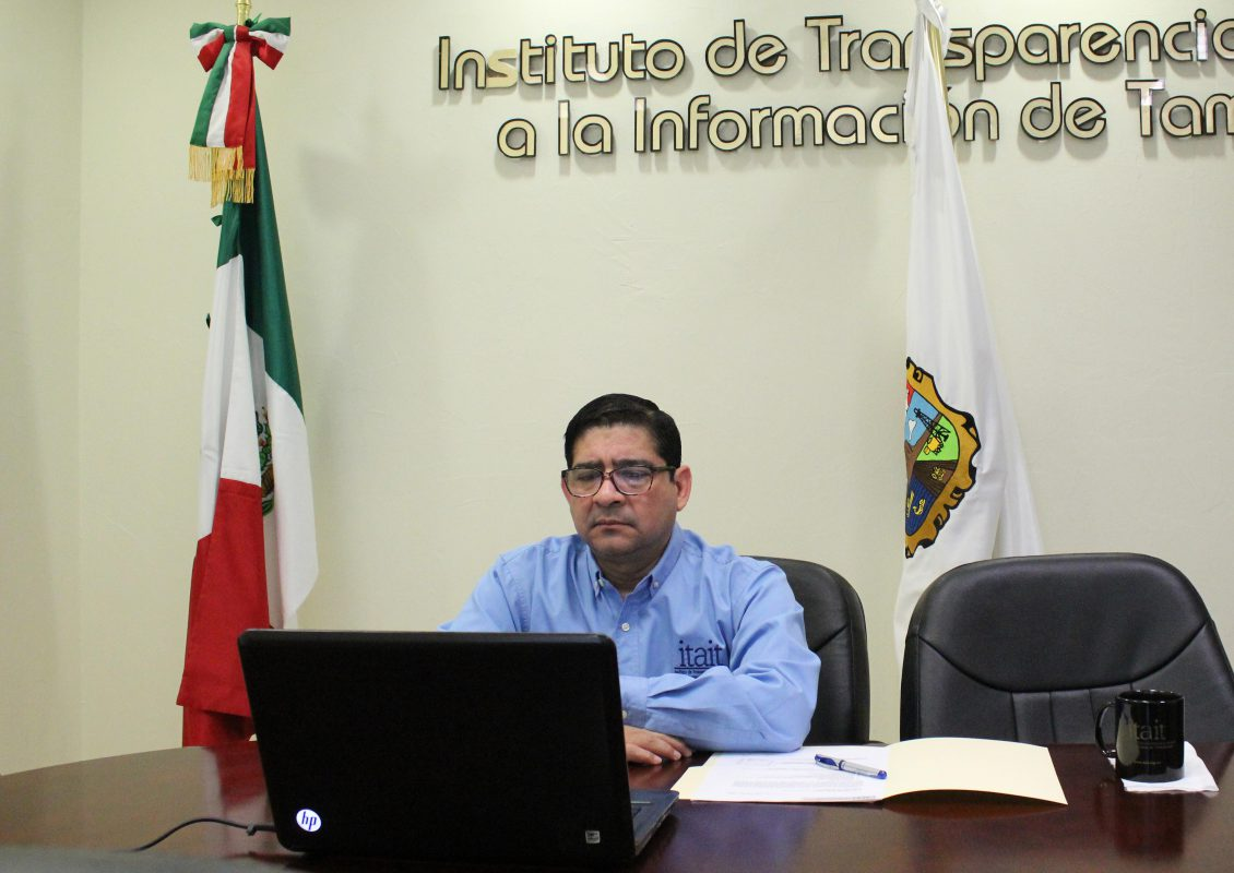 Comisionado Presidente participa en reunión del Consejo de Armonización Contable del Estado de Tamaulipas.