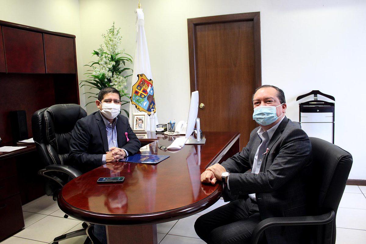 Presidente del ITAIT se reúne con Auditor Especial de Desempeño de la ASE