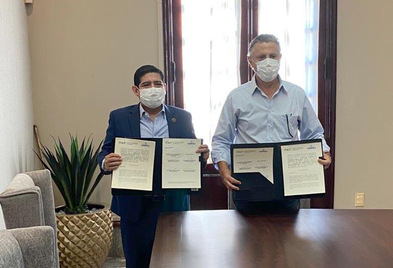 ITAIT y el Ayuntamiento de Tampico firman convenio de colaboración a favor de la Transparencia y el Derecho a la Información