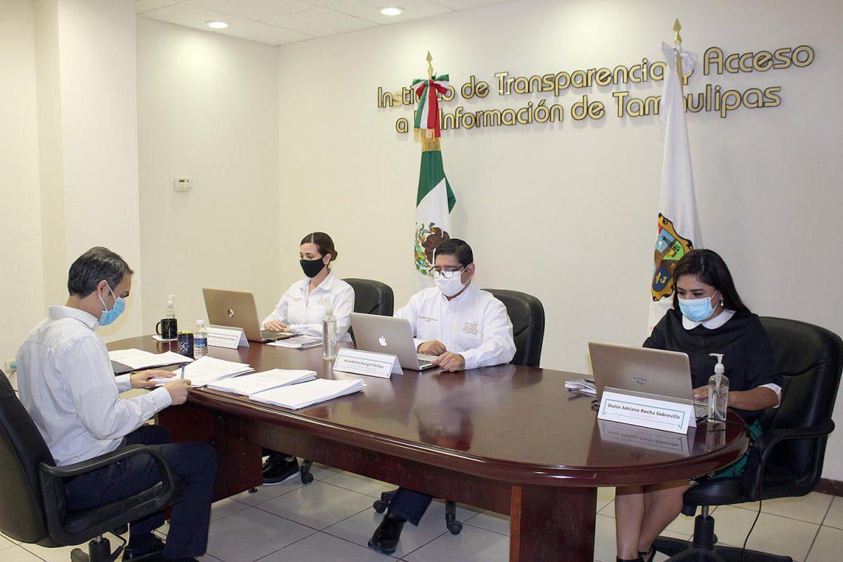 Pleno del ITAIT resuelve 83 denuncias garantizando el Derecho a la Información de los tamaulipecos