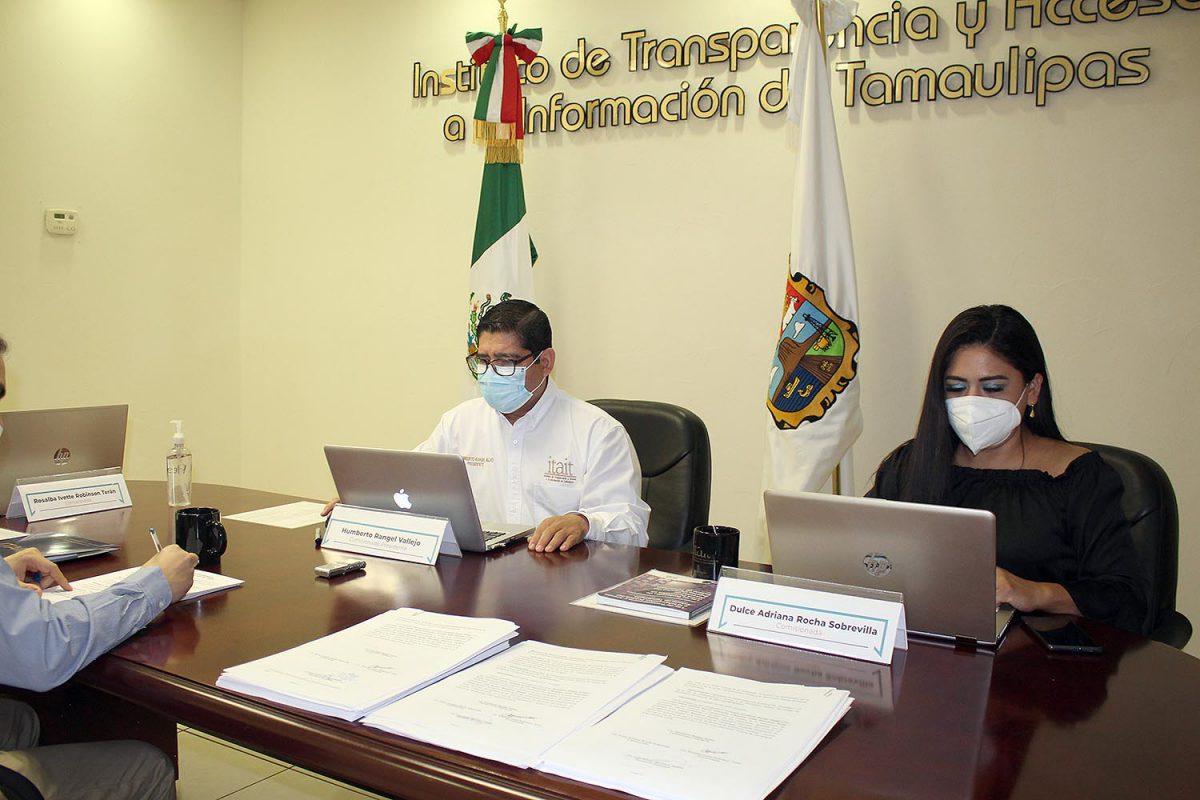 Aprueba ITAIT amonestaciones públicas a titulares de las Unidades de Transparencia de los Ayuntamiento de Casas y Ocampo