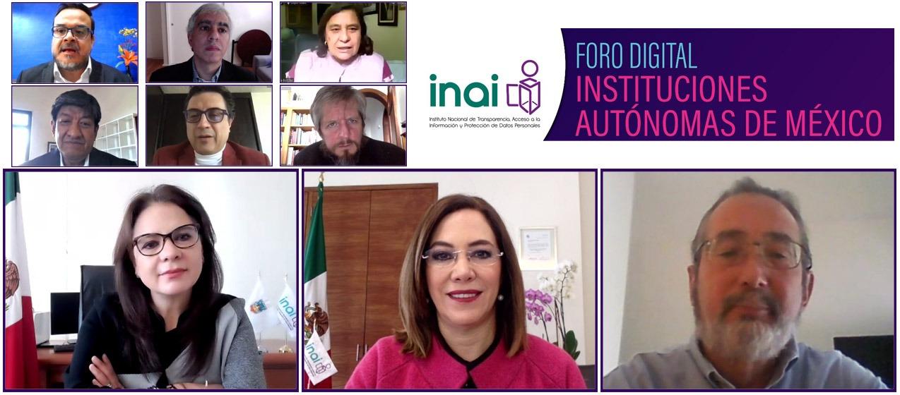 """Participa ITAIT en Foro Digital """"Importancia y función de las Instituciones Autónomas en México""""."""