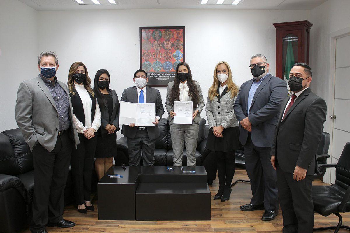 ITAIT y Tribunal Electoral del Estado de Tamaulipas firman convenio de colaboración para fortalecer conjuntamente la Cultura de la Transparencia