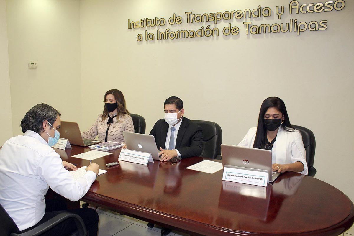 Pleno del ITAIT impone medidas de apremio a los Ayuntamientos de Villa de Casas, Hidalgo, Miguel Alemán, Mier, Abasolo y Jaumave.