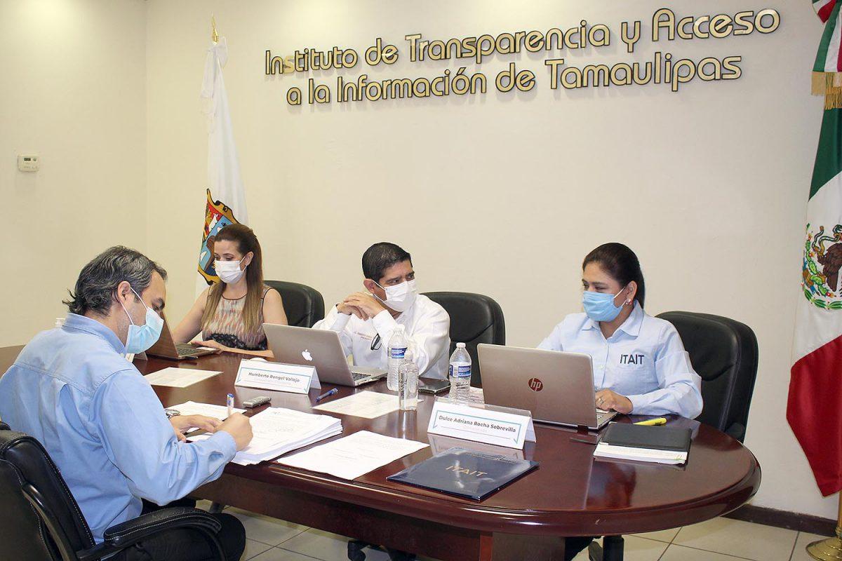 ITAIT multa al Ayuntamiento de Reynosa por 5,468.00 e impone medidas de apremio a los Municipios de Miguel Alemán, Jaumave y COMAPA Llera