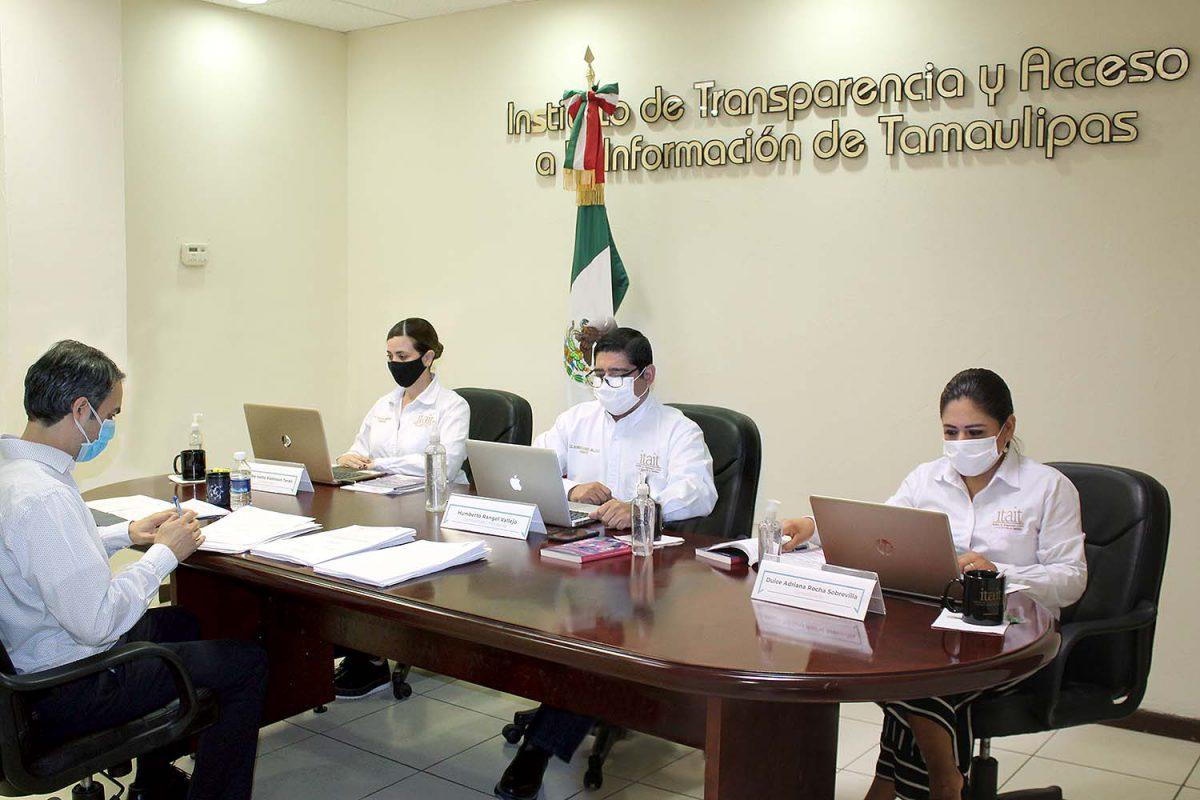 ITAIT impone multa por ,464.00 pesos, al Alcalde de Miguel Alemán y amonesta a Unidades de Transparencia de COMAPA Hidalgo y COMAPA Villa de Casas