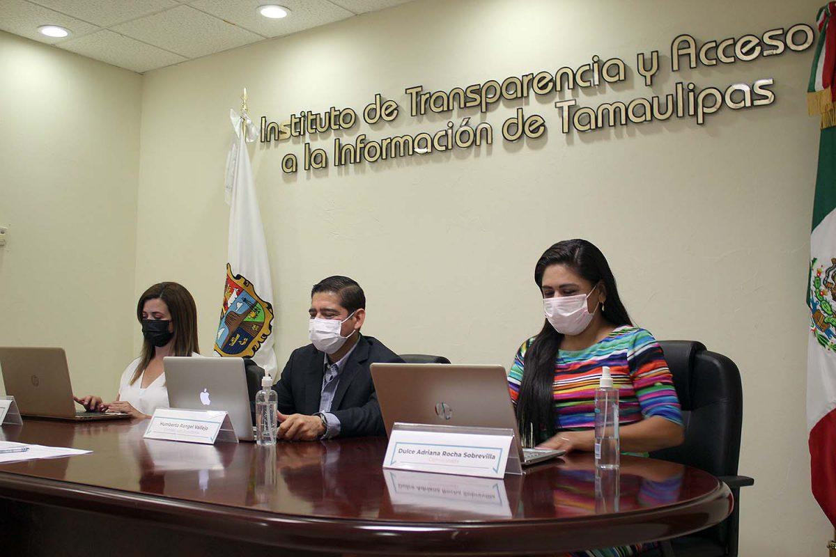 ITAIT garantiza el Derecho a la Información, la Transparencia y la Protección de Datos Personales en Tamaulipas destacan Comisionados en Sesión Extraordinaria
