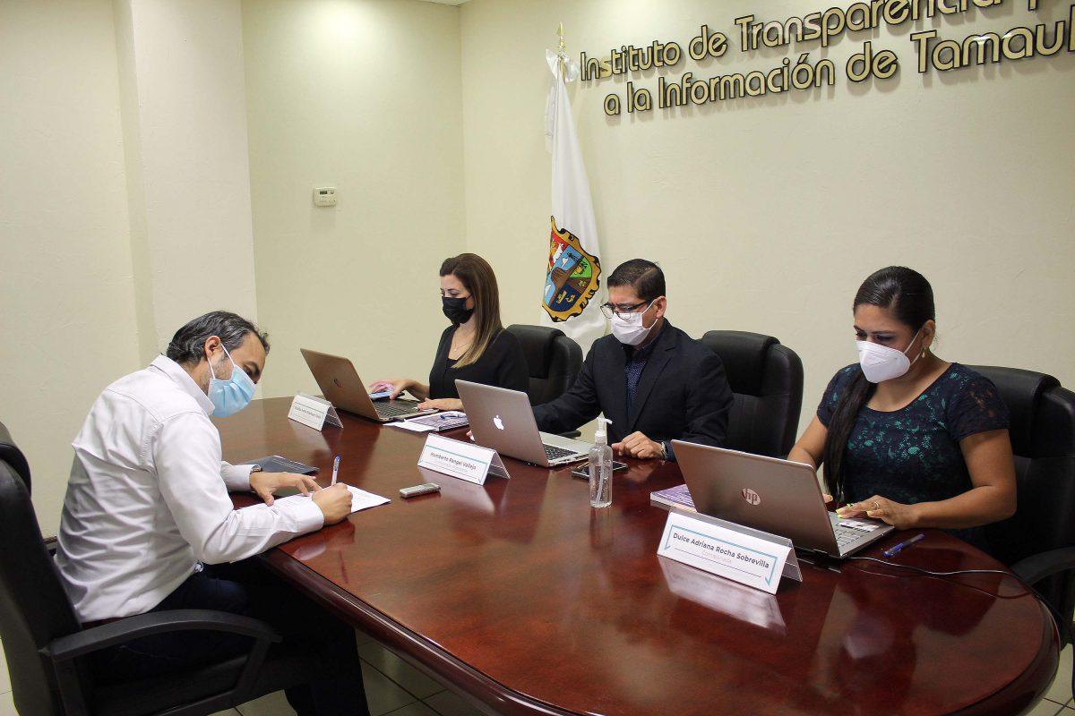 En Tamaulipas garantizamos el Derecho a la Información resolviendo con eficiencia los recursos de revisión y denuncias que presentan los particulares