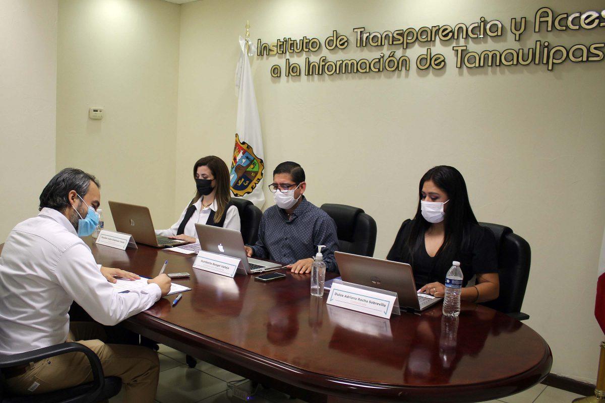 En Sesión Extraordinaria el Pleno del ITAIT impone multas, que en suma alcanzan los ,772.00 pesos, al Alcalde del Jaumave por incumplimiento reiterado