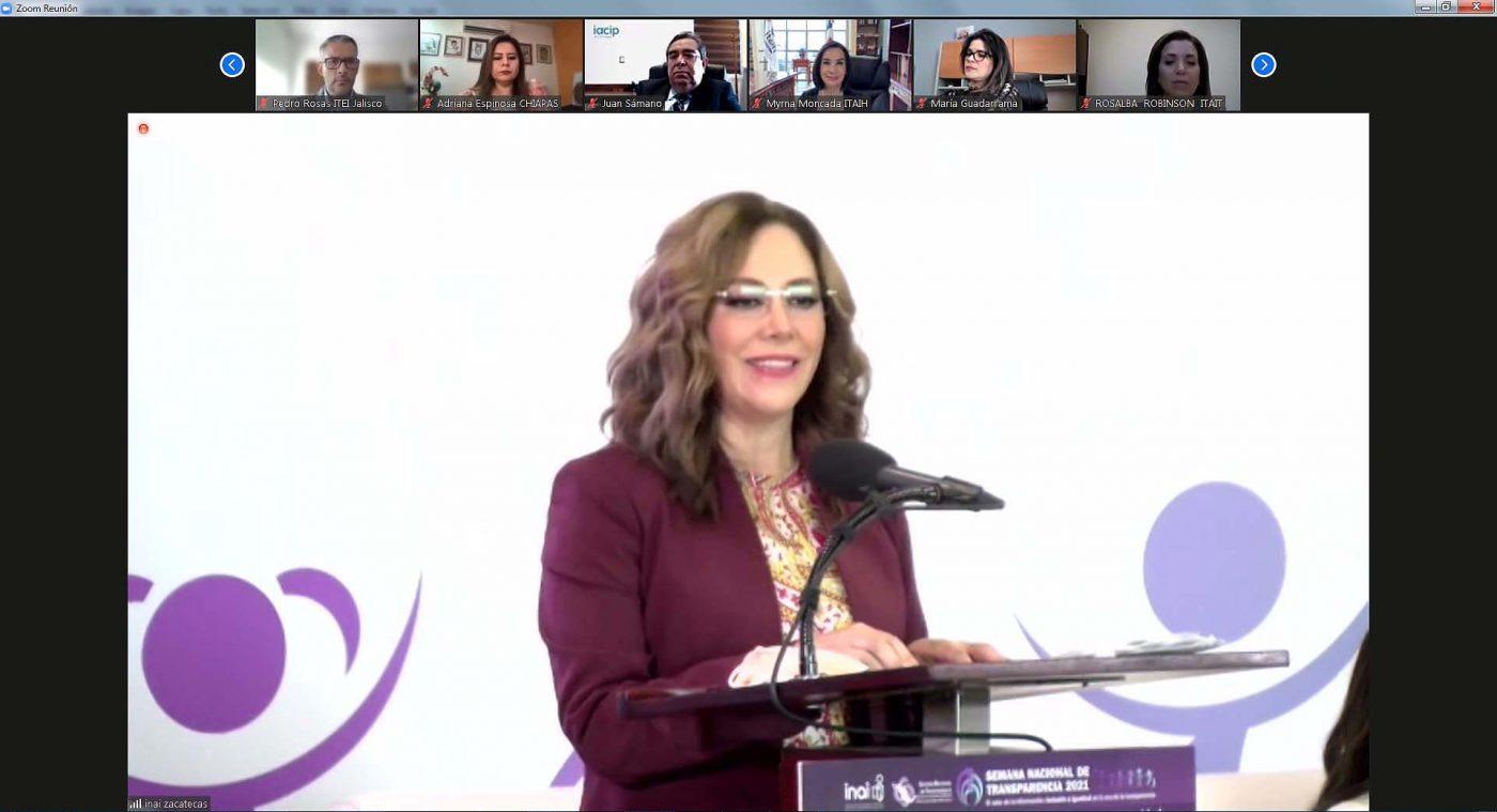 Participa ITAIT en la inauguración de la SEMANA NACIONAL DE TRANSPARENCIA 2021