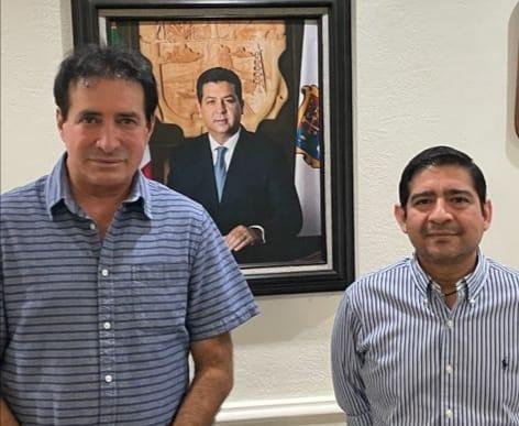 Comisionado Presidente sostiene reunión de trabajo con el Alcalde del Municipio de Valle Hermoso